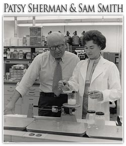 Patsy Sherman Born Sep 15 1930 Block and Graft Copolymers Containing Water Solvatable Polar Groups and Fluoroaliphatic Groups Scotchgard (TM) Textile Proctector Patent Number(s) 3,574,791 Inducted 2001 Samuel Smith Born Sep 13 1927 - Died Jan 6 2005 Block and Graft Copolymers Containing Water Solvatable Polar Groups and Fluoroaliphatic Groups Scotchgard (TM) Textile Proctector Patent No. 3,574,791 Inducted 2001